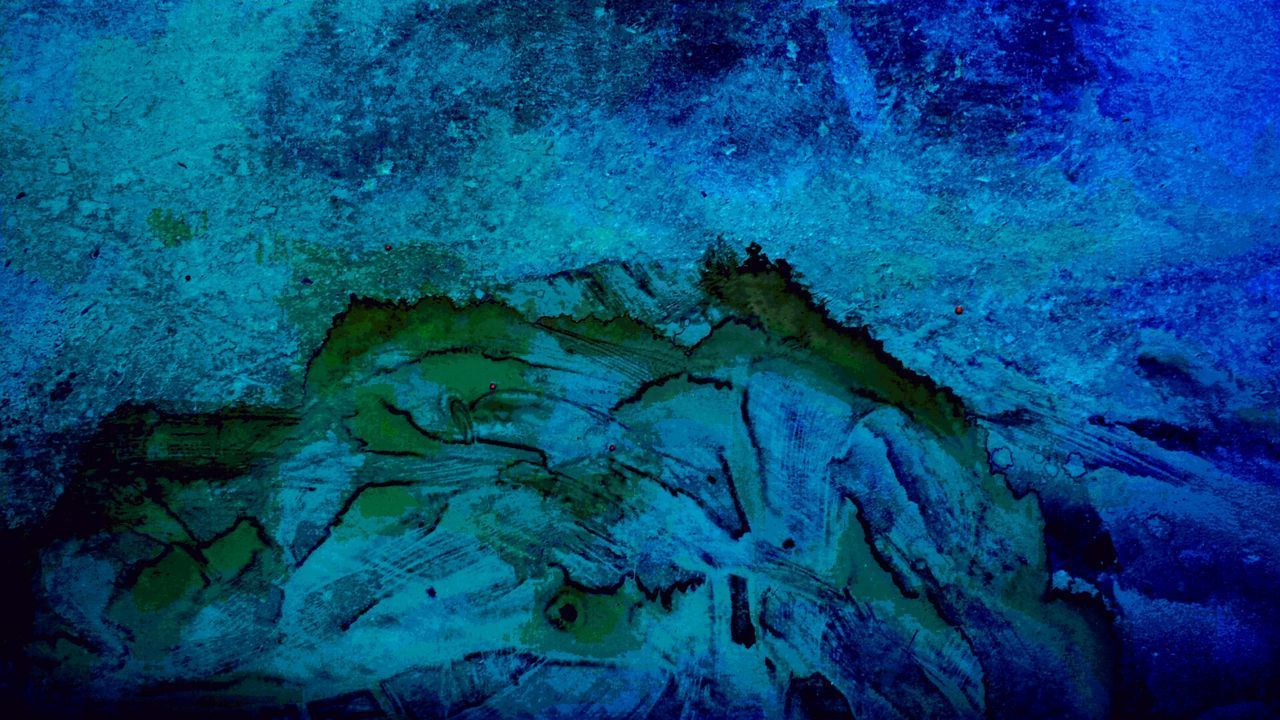 textured, full frame, rough, close-up, backgrounds, pattern, cave, nature, blue, no people, stalactite, beauty in nature, indoors, day