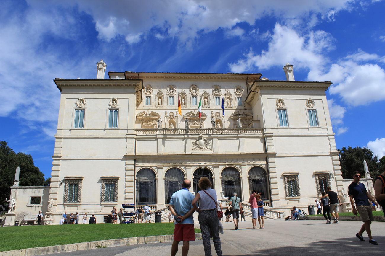 Architecture Built Structure Façade Tourist Villa Borghese Park Rome Italy🇮🇹 Low Angle View