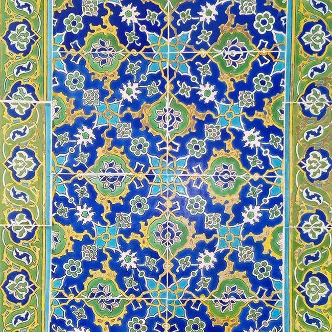 Mosaic at the Topkapi Palace. Istanbul Mosaic Art Topkapi Ottoman Palace Topkapısarayı