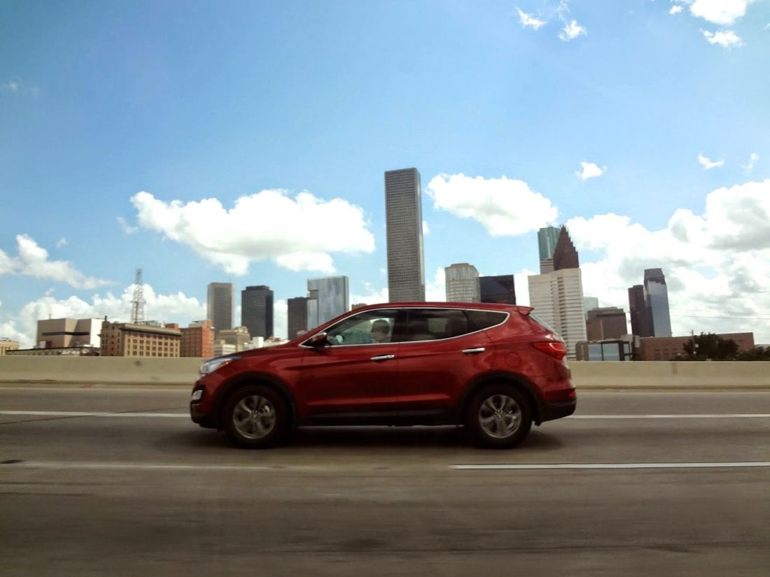 Red Car Cars On The Road!! The Road- Image Gallery Motion Picture Chicago on Highway Speeding Streetphotography Red Car