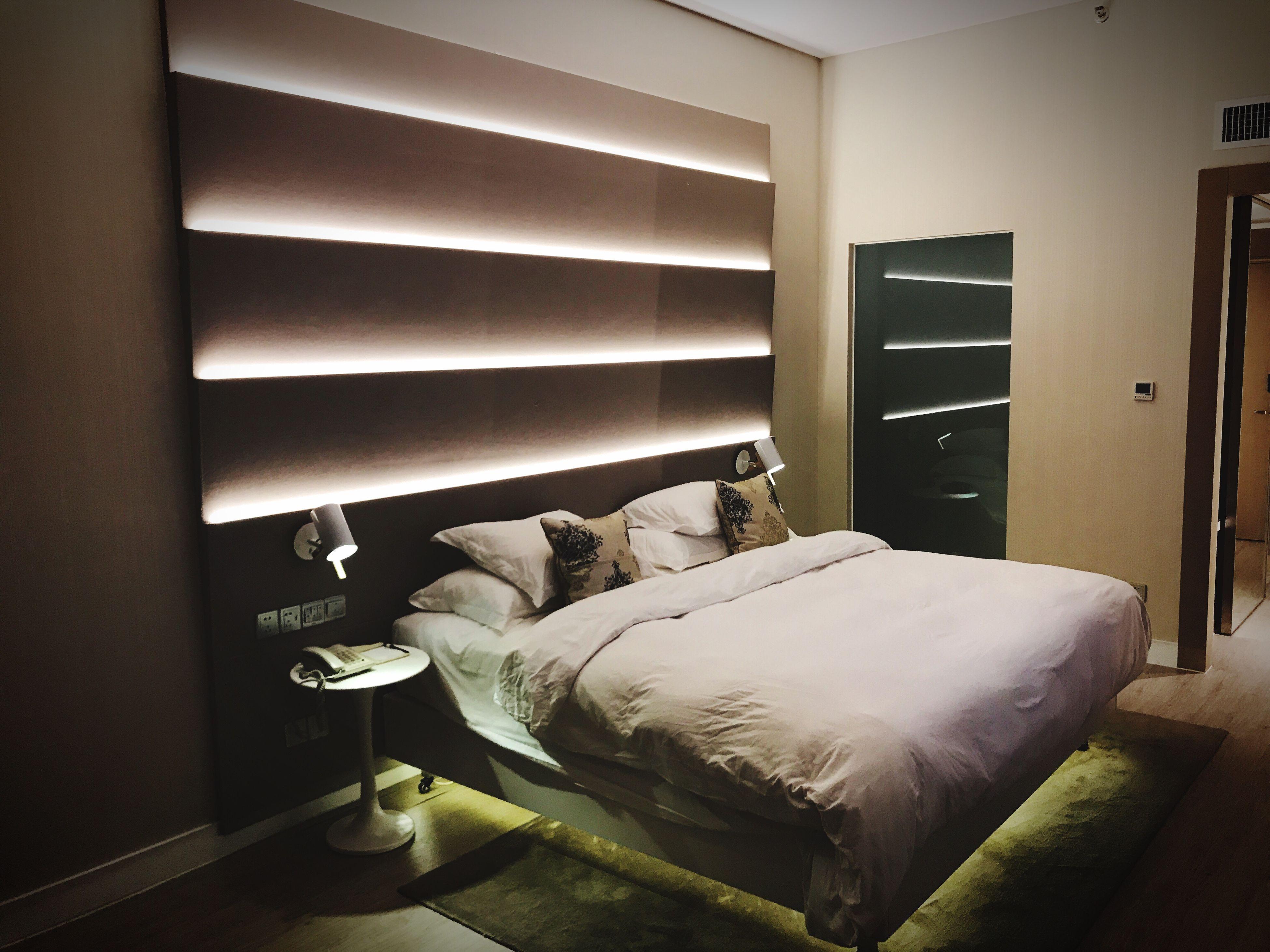 indoors, bedroom, bed, home interior, home showcase interior, pillow, domestic life, no people, day, architecture, mammal