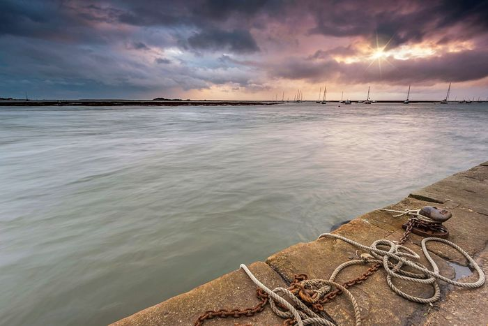 High Beauty In Nature Cloud - Sky Sea Scenics Outdoors No People Landscape_Collection Seascape Seaside Wells-next-the-Sea Norfolk Uk Harbor High Tide Boats Sunset Tranquility Water EyeEm Nature Lover EyeEm Gallery EyeEm Best Shots Great Britain