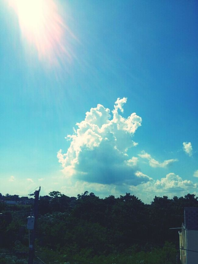 Perfect sunshine and cloud! EE_Daily: Blue Friday Sky And Clouds Picture Perfect Nature