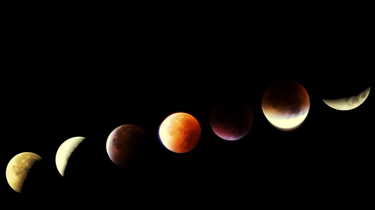 Moon Moon Eclipse Bloodmoon Composition Nightphotography Night This Week On Eyeem Open Edit Check This Out Hello World