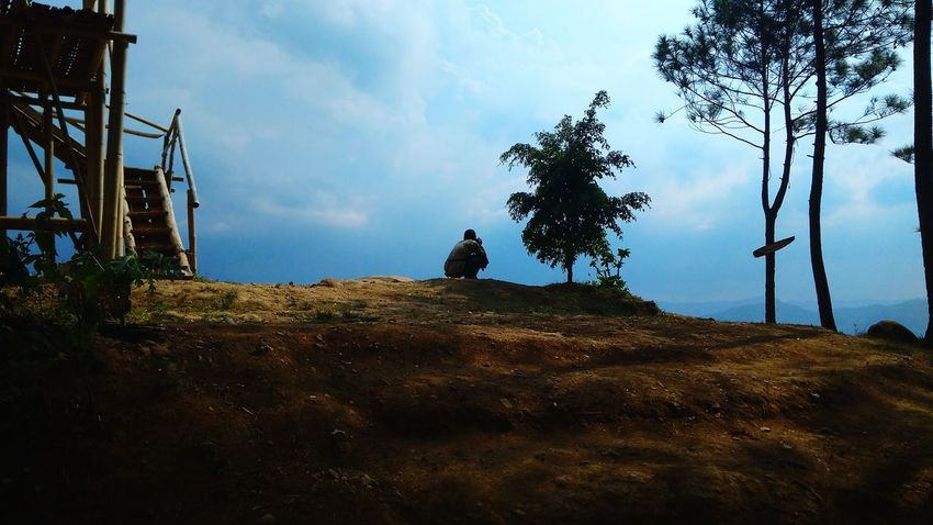 Panorama Indonesia country Cloud - Sky Travel Destinations Sky Ancient Civilization Day Outdoors No People Tree Perspectives On Nature