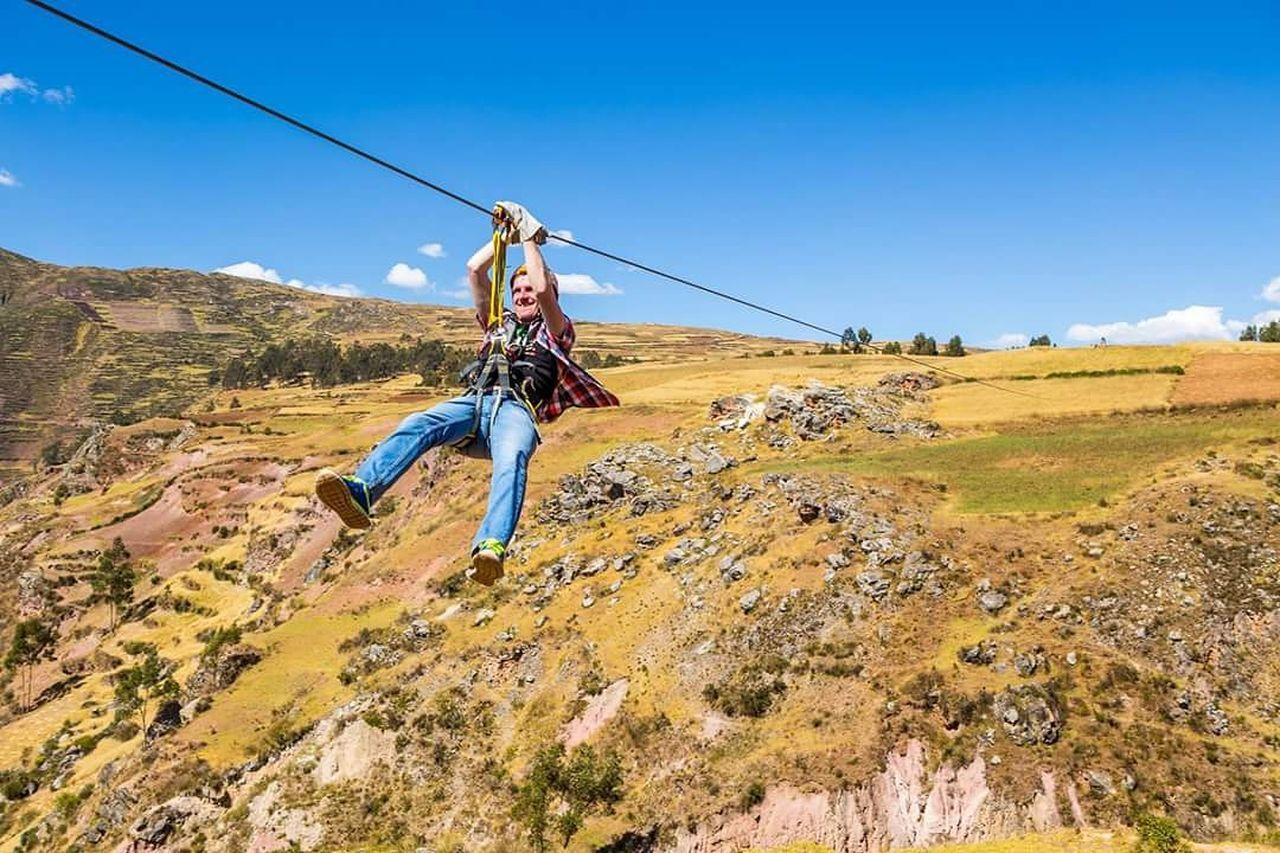 Zipline Chinchero Peru Adventure Adrenaline