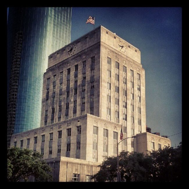 Houston City Hall. Artdeco 1930s Texas USA Buildings Architecture Archilovers Houstonarchitecture Photography