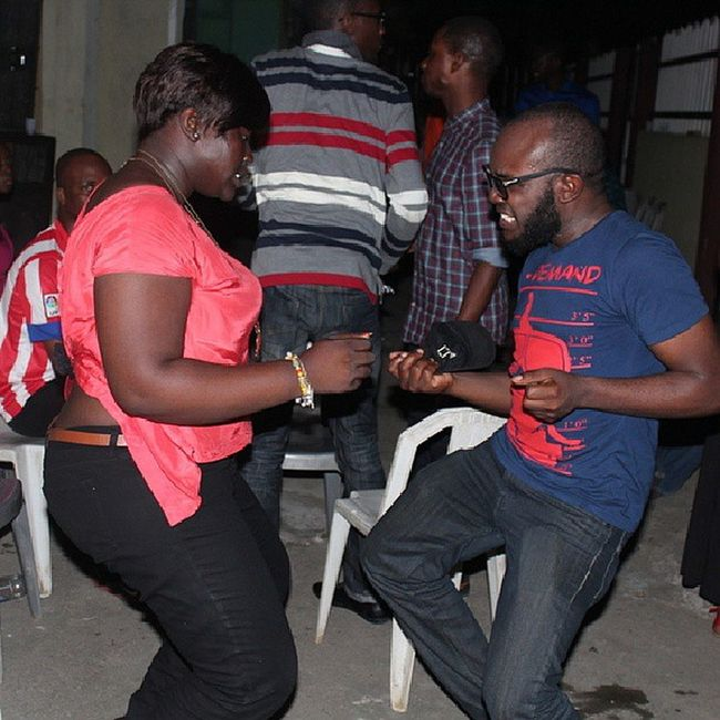 TBT  HappinessParty 2012 @sheriphskills n @_mizchiv digging it