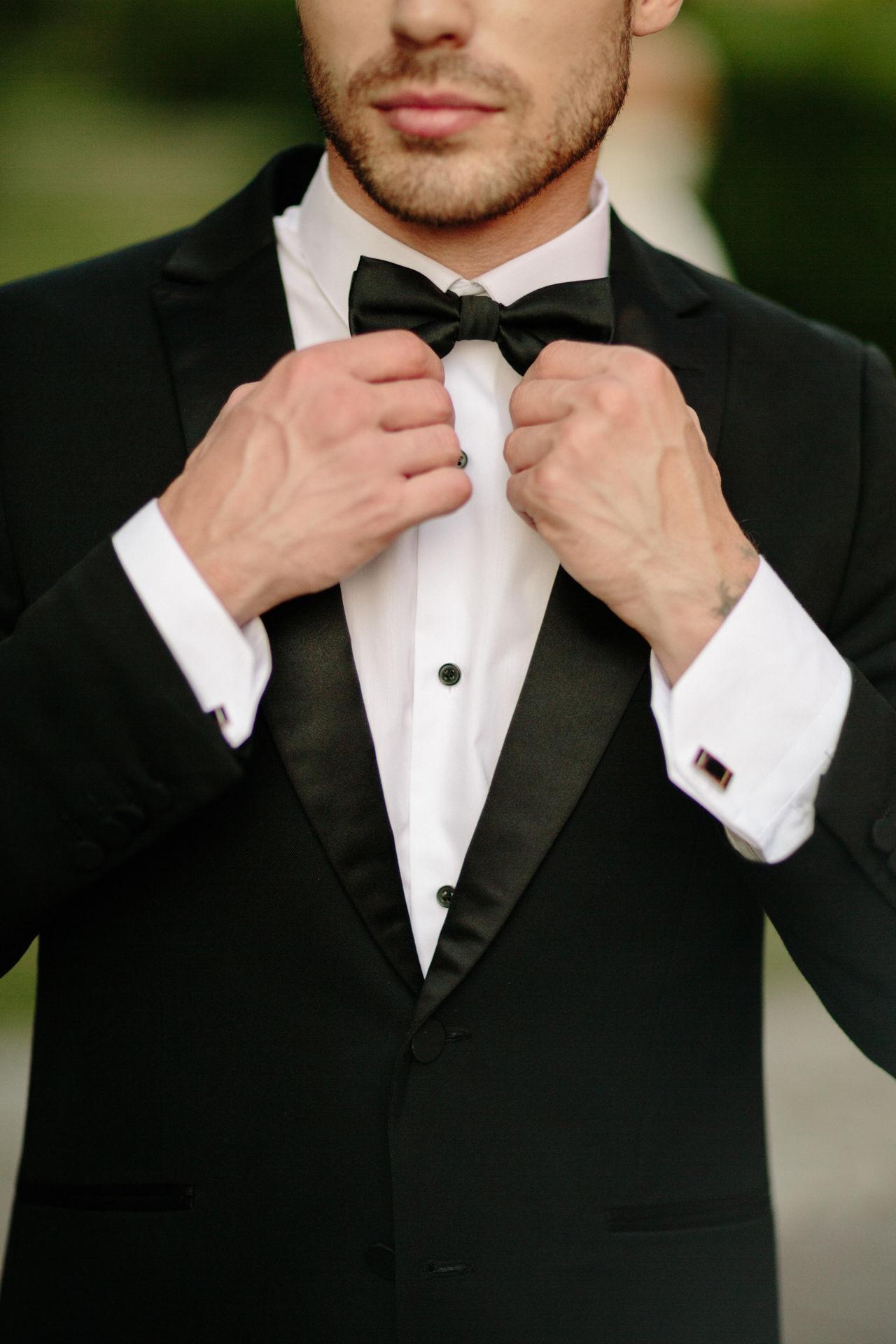 Groomsman Well-dressed Love Wedding