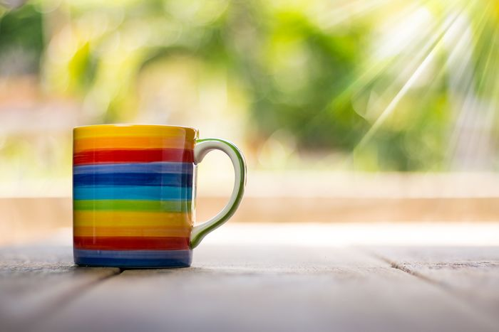colorfull cup #cup #Mugging  #drink #light #colorful No People Freshness Table Day Close-up
