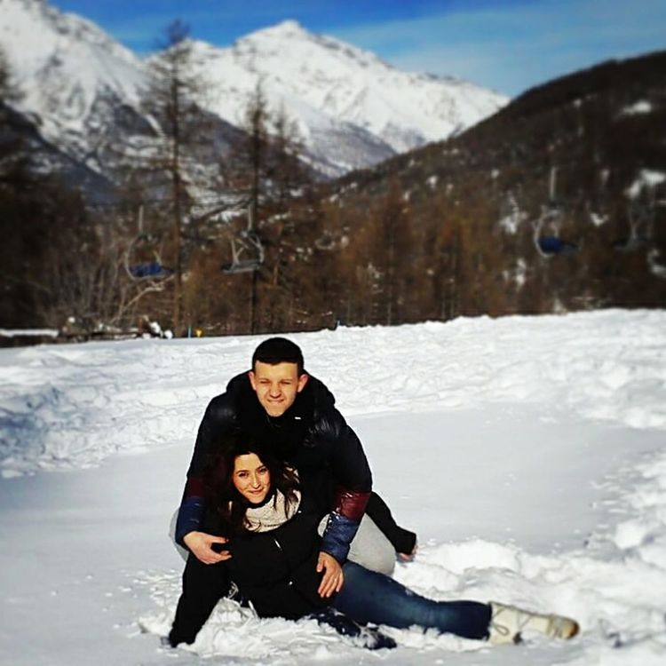 Deepfreeze Mountains Snow White Whitmylove❤ Weekend Lovely Love Sky And Trees Out