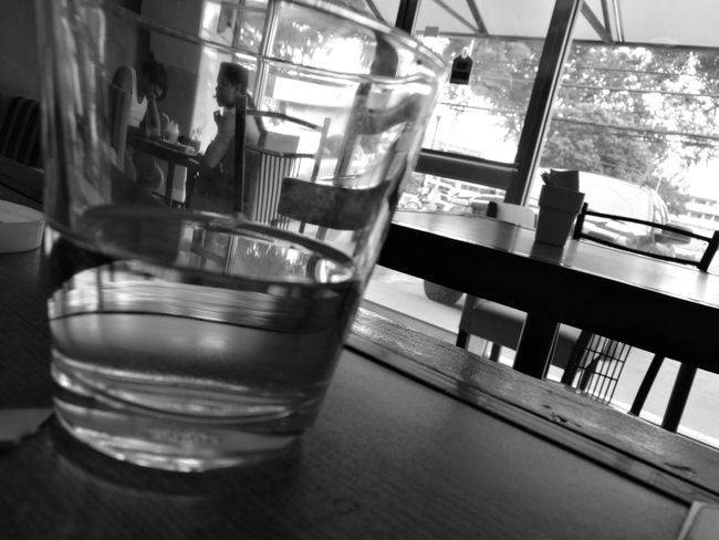 Embrace Urban Life, moments in a glass Glass Emotions Conversations Coffeshop Perspective