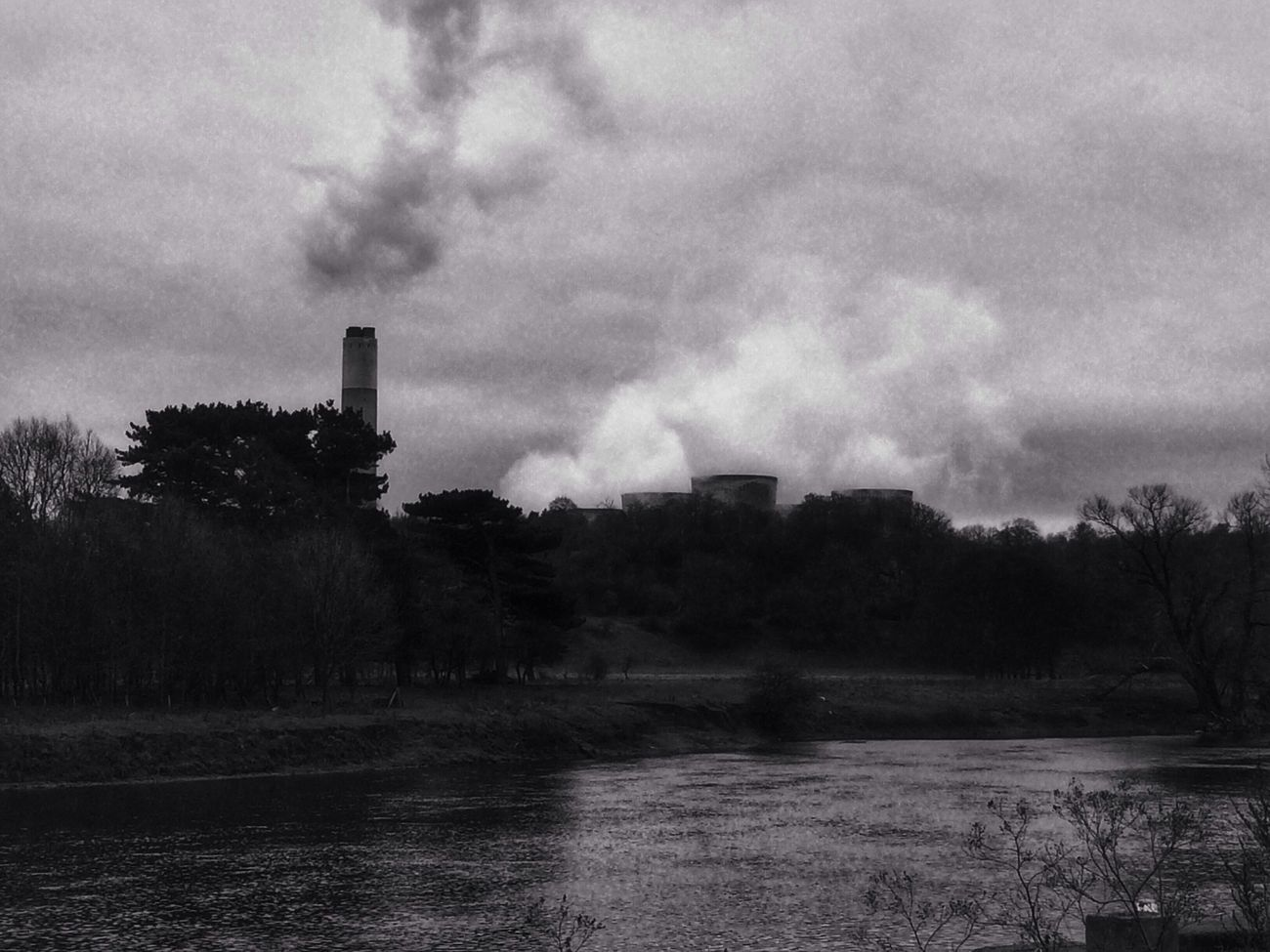 Power Station Blackandwhite