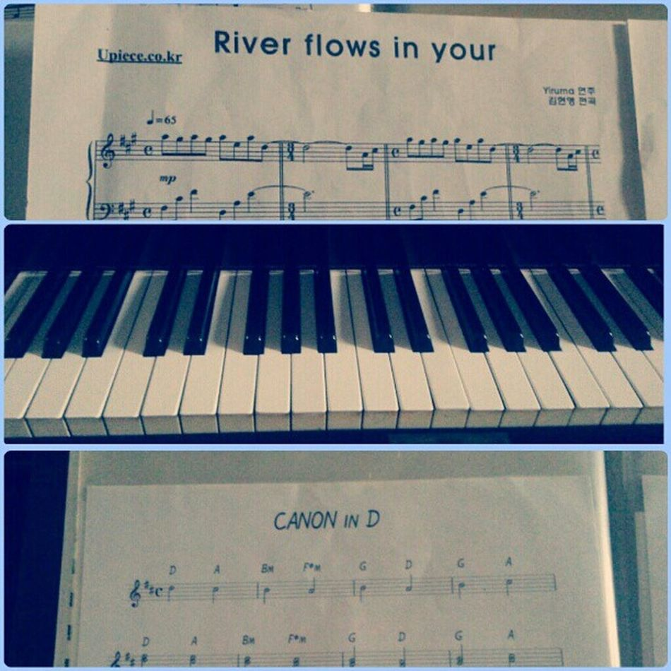 Two of my favorite songs Canonind Piano Yiruma Instagood instadaily