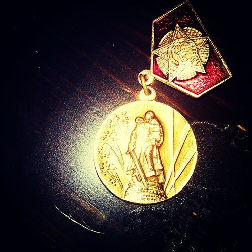 Russian Medal Photography