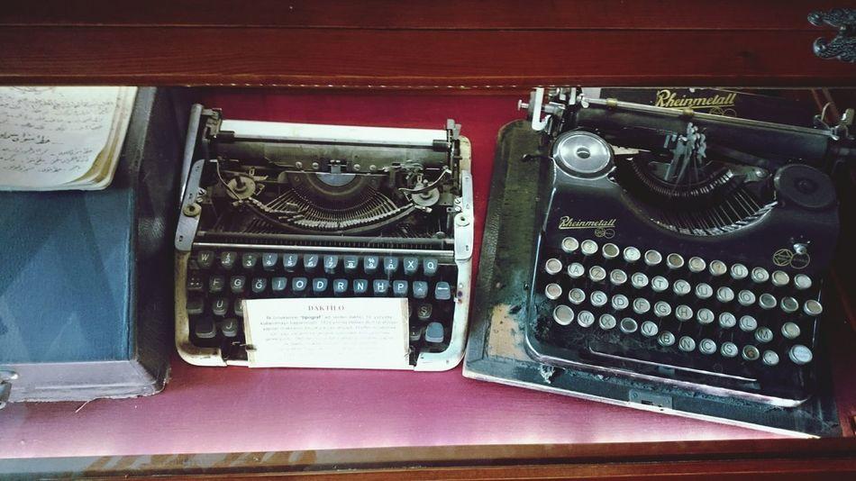 Şirince de müze de daktilo Daktilo Edebiyat First Eyeem Photo