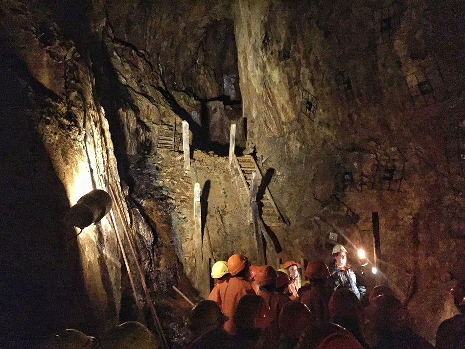 In Falun coppermine! Falun Copper  Coppermine Mine Koppar Koppargruva