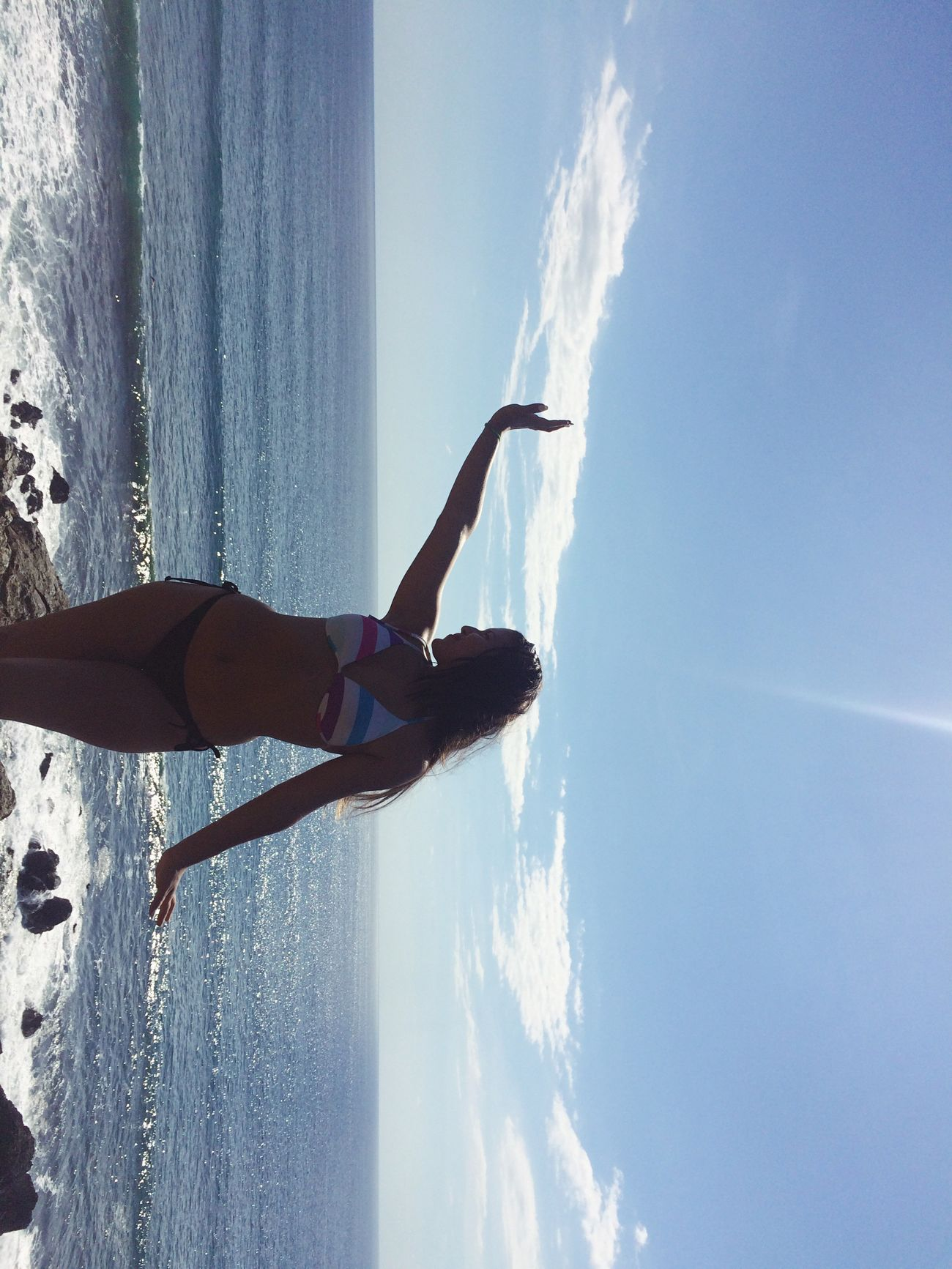 Sea Water Sky Nature Beauty In Nature Outdoors Beach Beachbum Bikini Time❤ Tanning ☀ Freepeople Costarica Photography Enjoy With Mylove Oceanview The Best