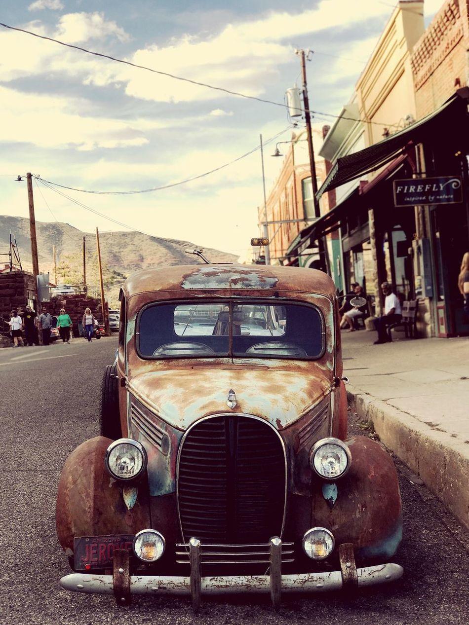 Car HotRod Jerome, AZ Rustygoodness Rust Petina RatRod Old School Truck DOPE