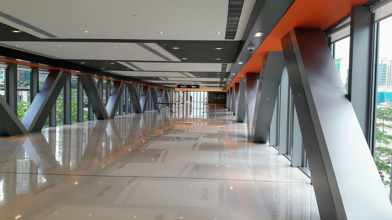 Indoors  Architecture Walkway Tseung Kwan O
