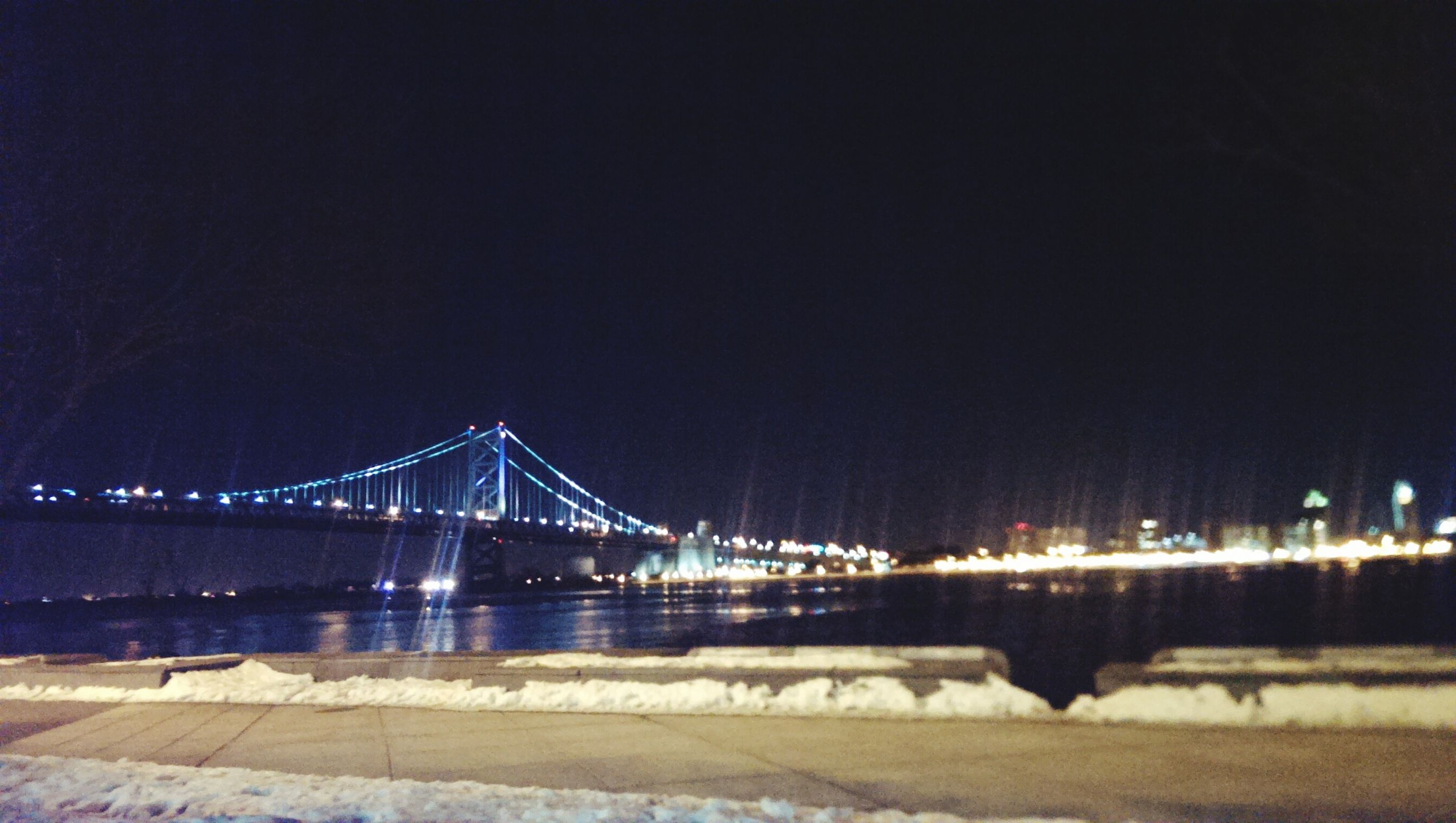 Benfranklinbridge Nightphotography Night Lights Skaiting Colors