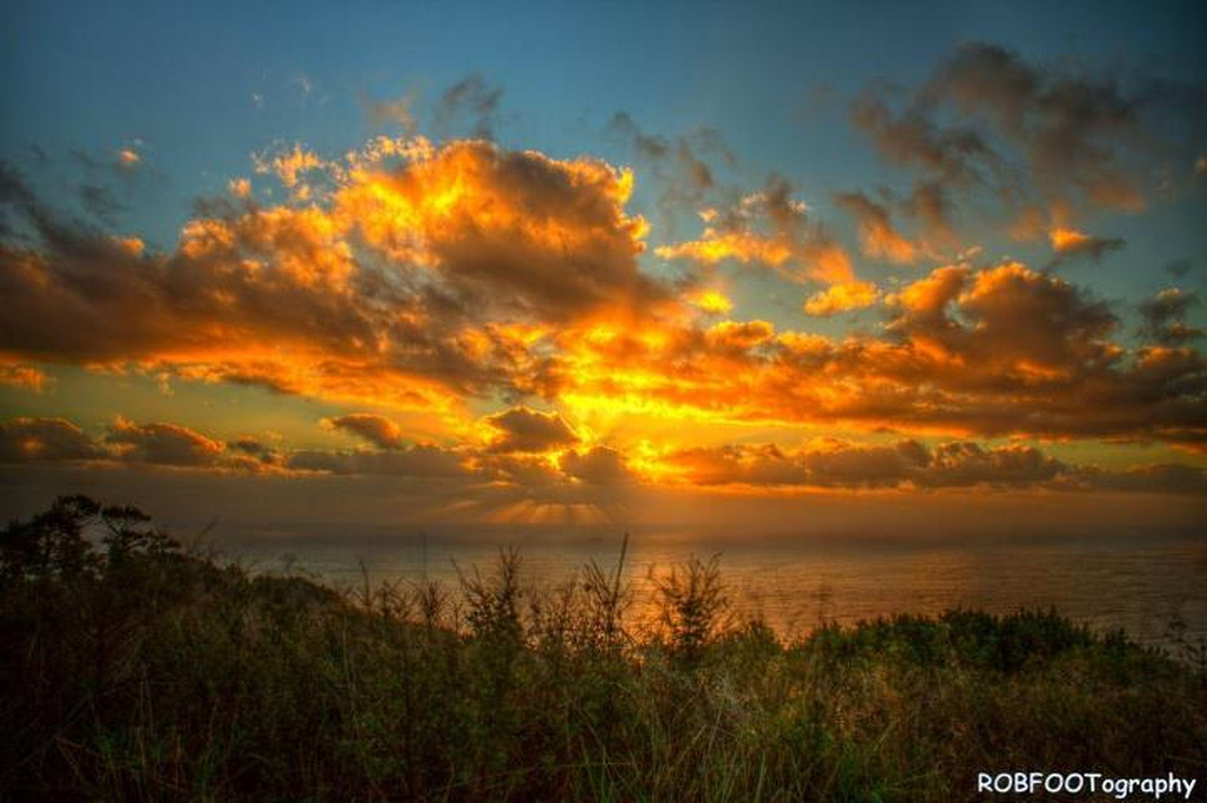 Sunset HDR Nordic Light