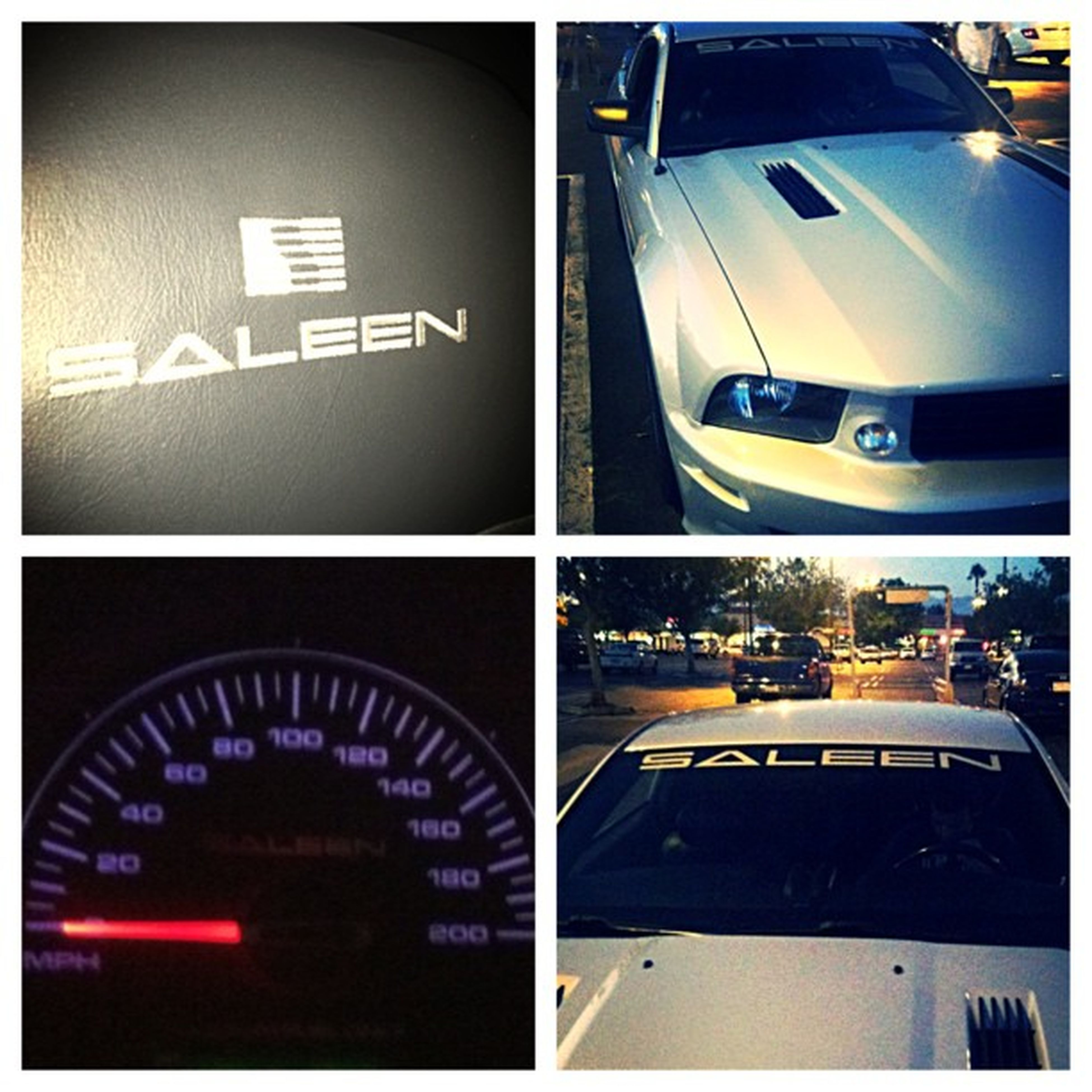 Dipping in the saleen Mustang 200mph Fastlane Highlife ford???? @andy_gsxr8 beast mode son keep up haha