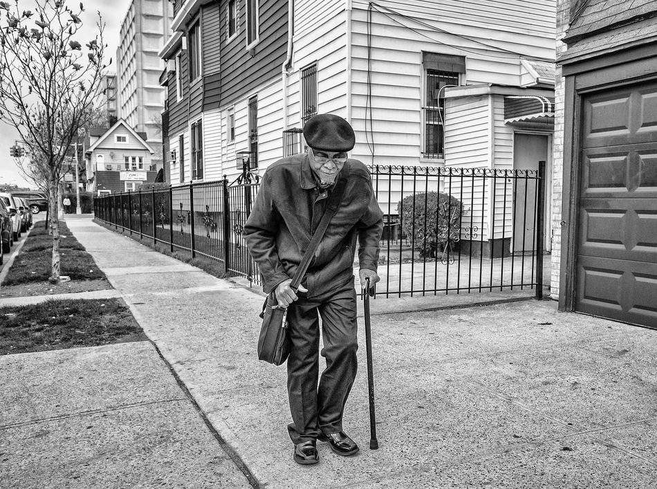 Streetphoto_bw NYC Street Photography Brooklyn Flatbush NYC Street Photography