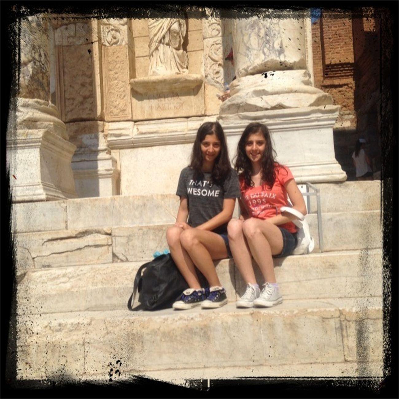 İkizimle yeniden Efes Antik Kenti