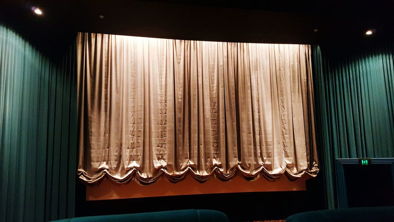 Curtain Arts Culture And Entertainment Illuminated Indoors  No People Stage - Performance Space Close-up Architectural Column Architecture Moviestar Movie Time Movies <3 Moviescene Indoors  Low Angle View Built Structure