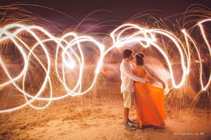 Long Exposure Dance With Me - Prewedding By KM Don't Be Square Panton Colors By Gizmon