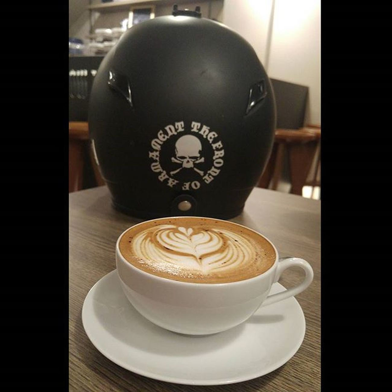 Helmet Tfoa Crowsxworst Coffee Coffeetime Mochaccino Coffeesesh Lcbbandung Val  2016 LGG4 LG  G4 ☕