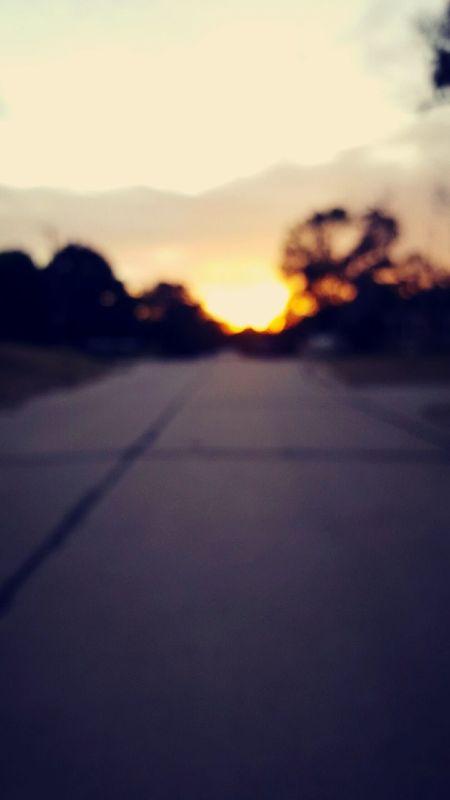 run home Sunset Running Papertown