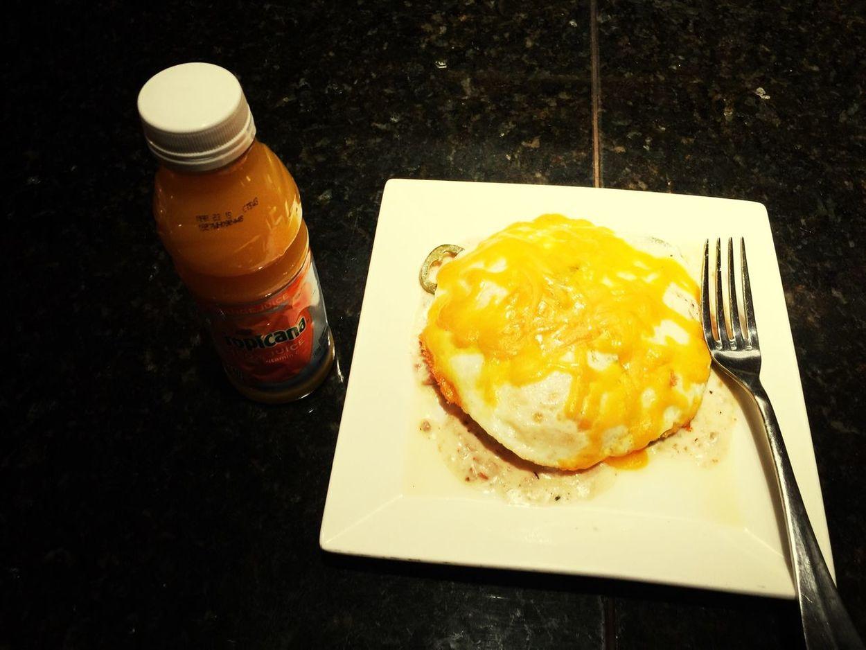Breakfast is serve. GM