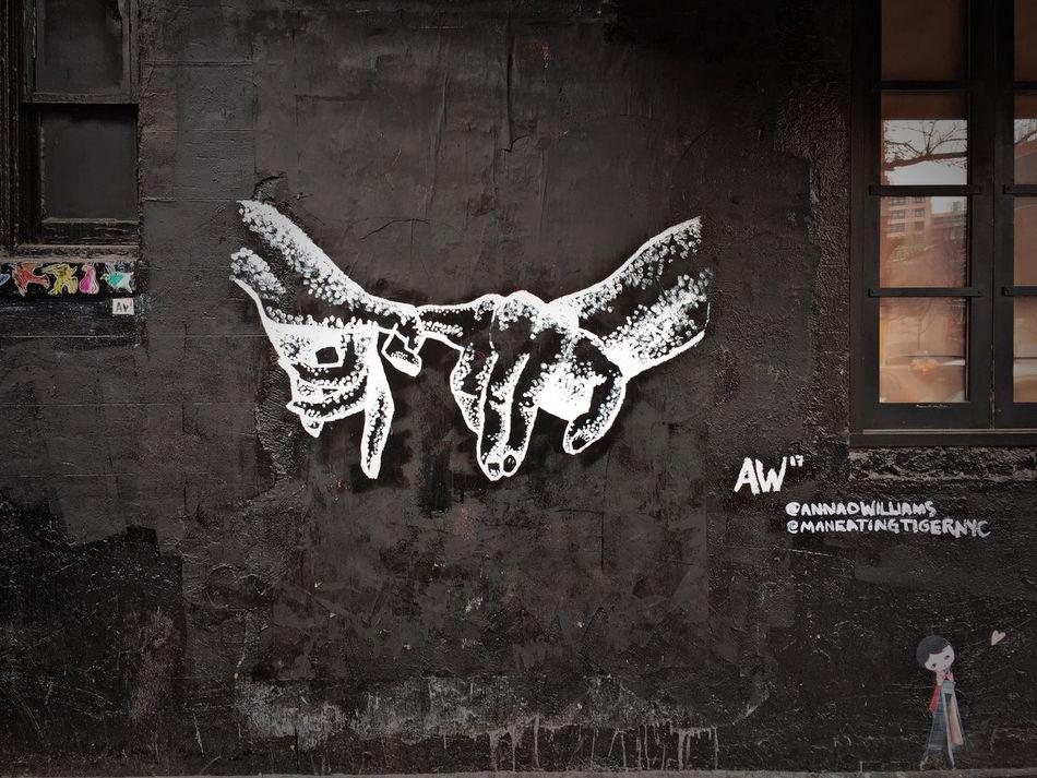 Pinky Swear Graffiti Art Graffiti Graffiti Wall Drawing - Art Product Creativity Outdoors NYC City Life Street NYC Street Photography