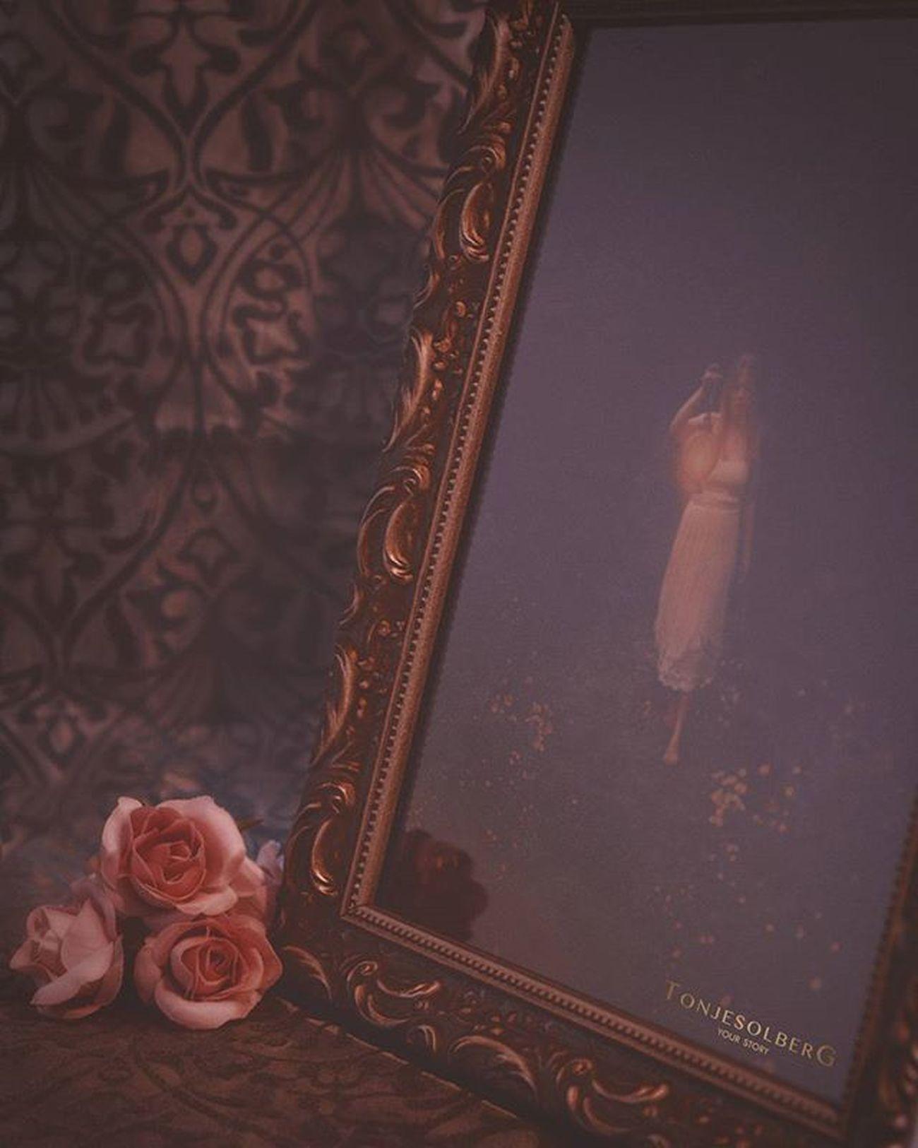 Vintage stemningsbilde av den lekre gaverammen Baroque 👌 Ramme Fotoramme Frame Existinphotos