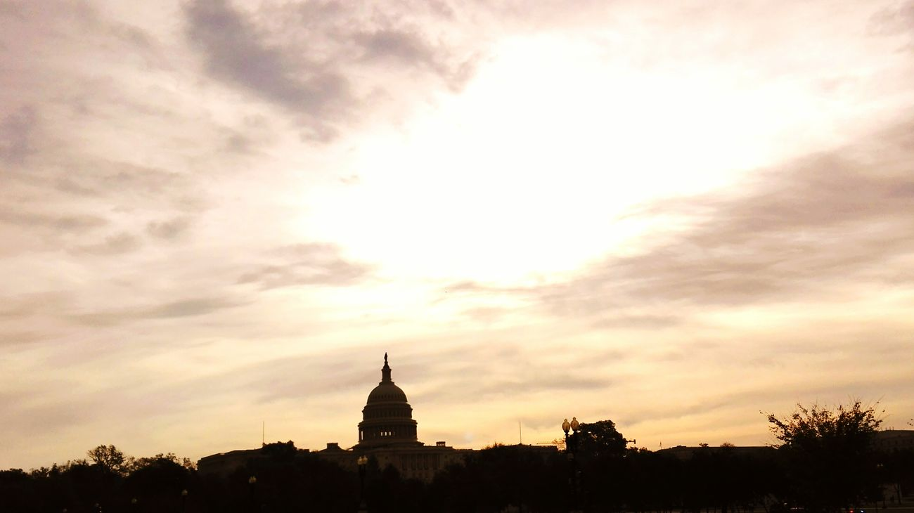 Architecture Travel Destinations History Built Structure Sky Travel Outdoors Architecture Washington, D. C. Capitol Hill Religion Tourism Sunset Dome Silhouette No People Building Exterior Cloud - Sky City Place Of Worship Day
