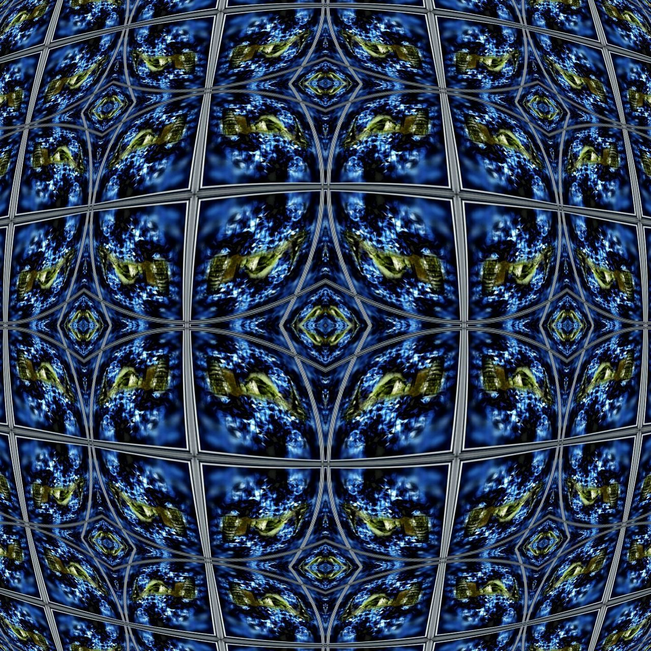 Diseñográfico Pattern Backgrounds Full Frame Design Symmetry Blue Day Window Seamless Pattern Close-up No People Outdoors