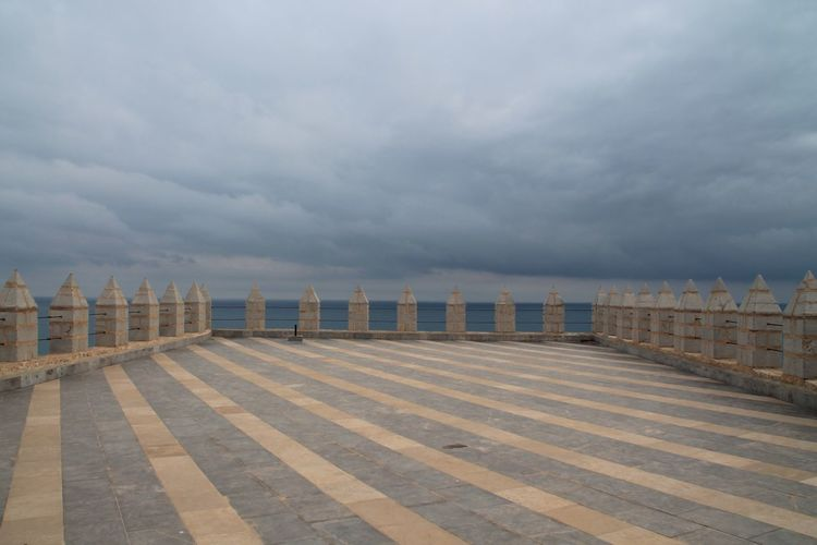Peñíscola Castle Templars Sky Sea Tranquility Nature Tranquil Scene Cloud - Sky Beach Outdoors No People Scenics Beauty In Nature Day Hanging Out Check This Out Taking Photos Enjoying Life Architecture Architecture_collection Roof Rooftop Clouds And Sky Sky And Clouds