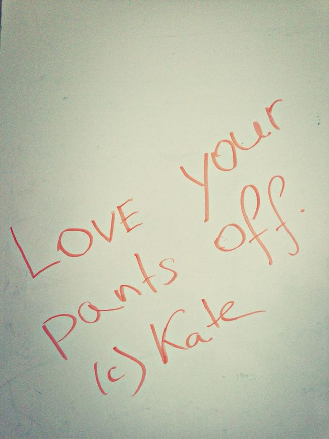Quote Of The Day  Kate Says