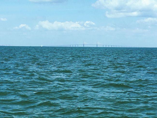 Sunshineskywaybridge Sunshineskyway Sunshine Skyway Bridge