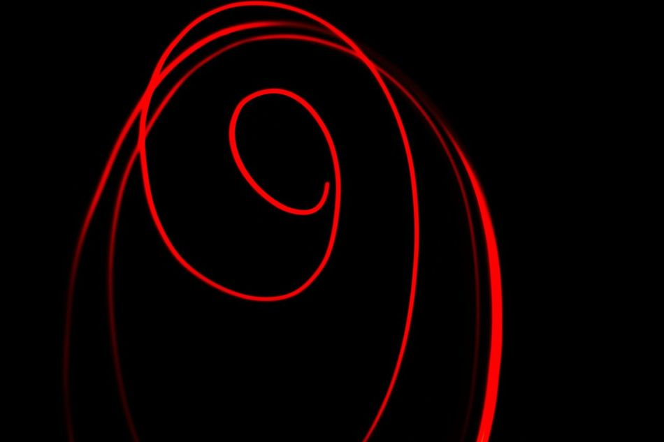 Abstractart Red Night Shot Night Photography Long Exposure Lignt Streak Glowing Red Light Spiralling Spiral Abstract Photography Abstractphotography Abstractlovers Abstract Minimalism