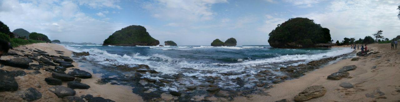 Exploremalang Panorama Pantai Goa Cina Travel