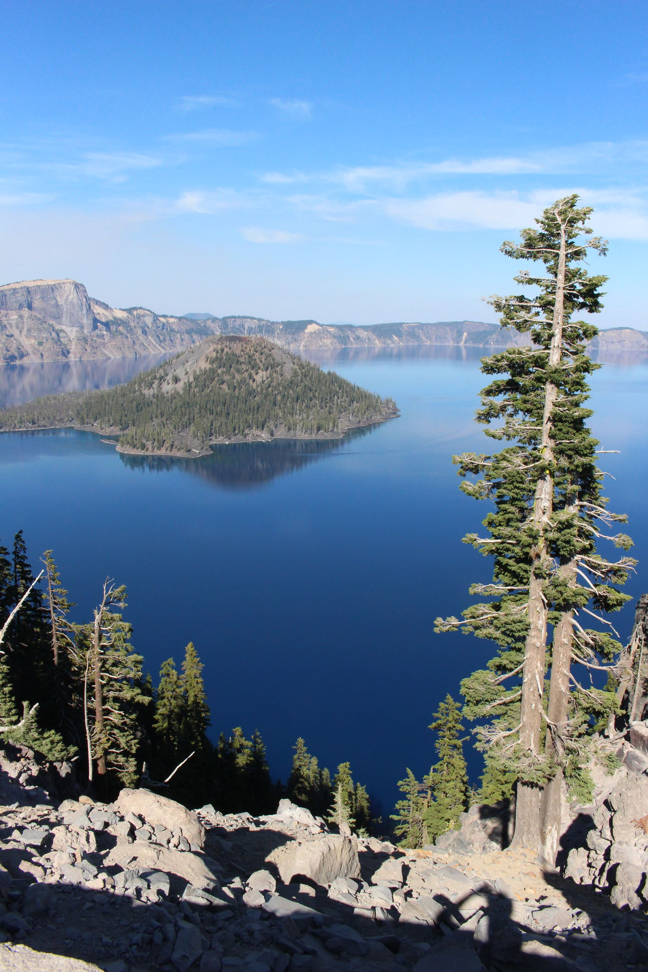 Beauty In Nature Blue Blue Water Blue Water Blue Sky Crater Lake Crater Lake National Park Nature Perfect Match Wizard Island