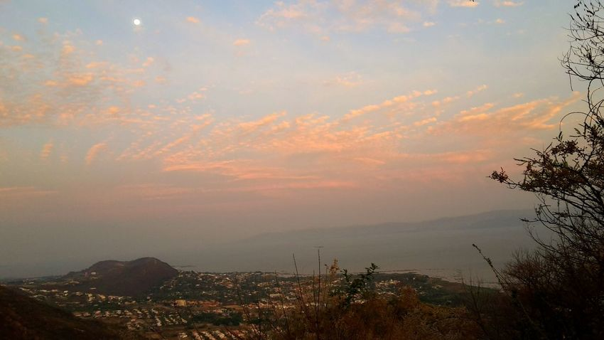 Neighborhood Map Ajijic Vew From The Mountain Early Night Chapala Lake Moon Landscape Sunset Nature & Townscape EyeEmNewHere Live For The Story The Great Outdoors - 2017 EyeEm Awards EyeEm Selects