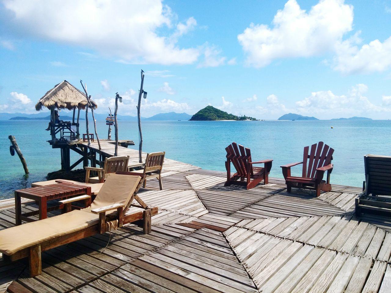Beautiful stock photos of decks,  Beauty In Nature,  Blue,  Boardwalk,  Calm
