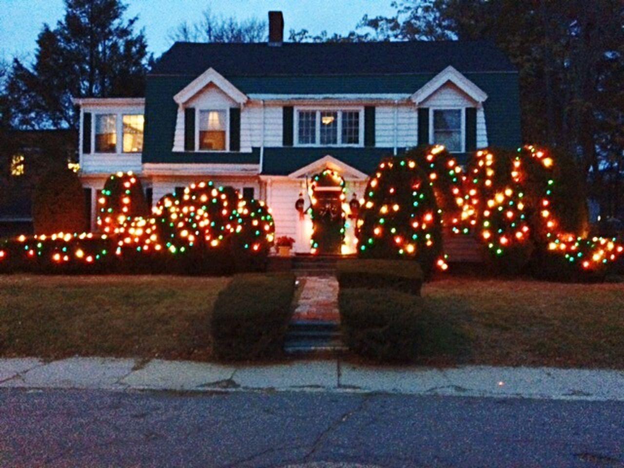 celebration, illuminated, night, building exterior, outdoors, christmas, no people, tree, architecture, multi colored, sky