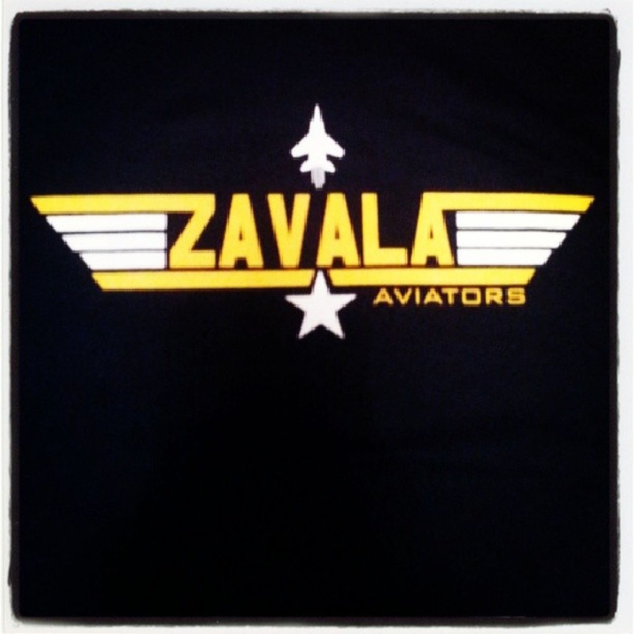 My staff t-shirt. A gift from the principal :). ZAVALA Avaitors Mascot Education tshirt