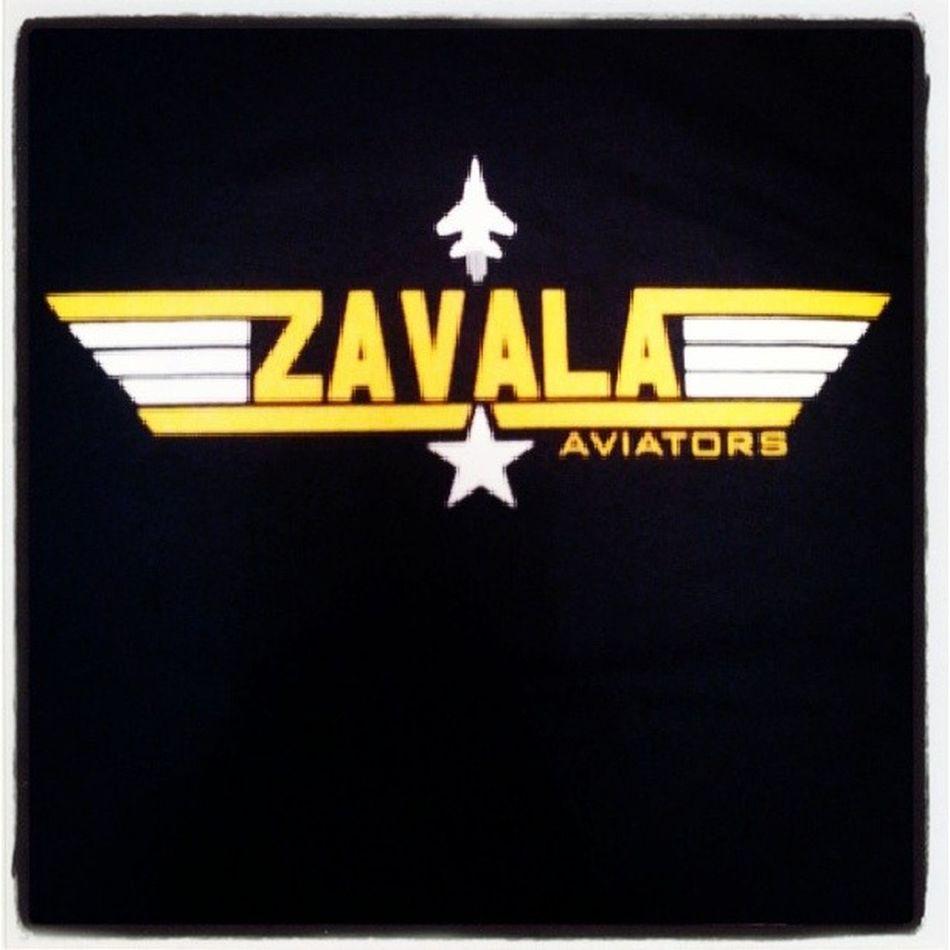 My staff t-shirt. A gift from the principal :). ZAVALA Avaitors Mascot Education tshirt