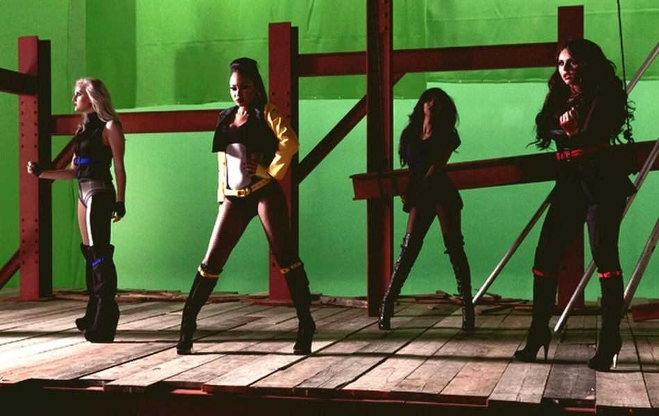 Little Mix  Perrie Edwards Leigh-Anne Pinnock Jade Thirlwall Jesy Nelson Dna Behind The Scenes